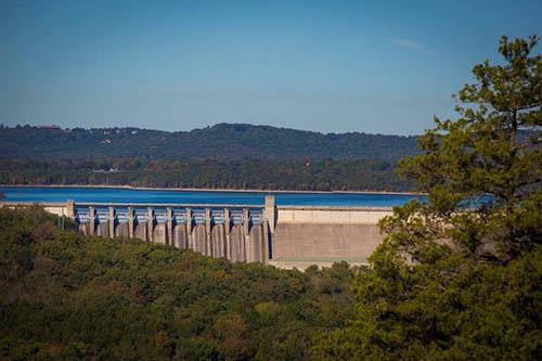 Table Rock Lake Dam