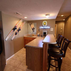 The interior of one of our more popular vacation rentals in Branson, MO