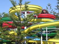 The slides of white water, one of the best summertime Branson attractions.