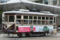 Branson's downtown trolley, one of the most historic Branson, Missouri attractions you'll find.