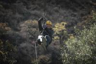 Ziplining - one of the most invigorating Branson attractions to experience during your trip.