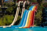 The waterslides at Splash Country, one of the wettest Branson, MO attractions you'll find in the area.